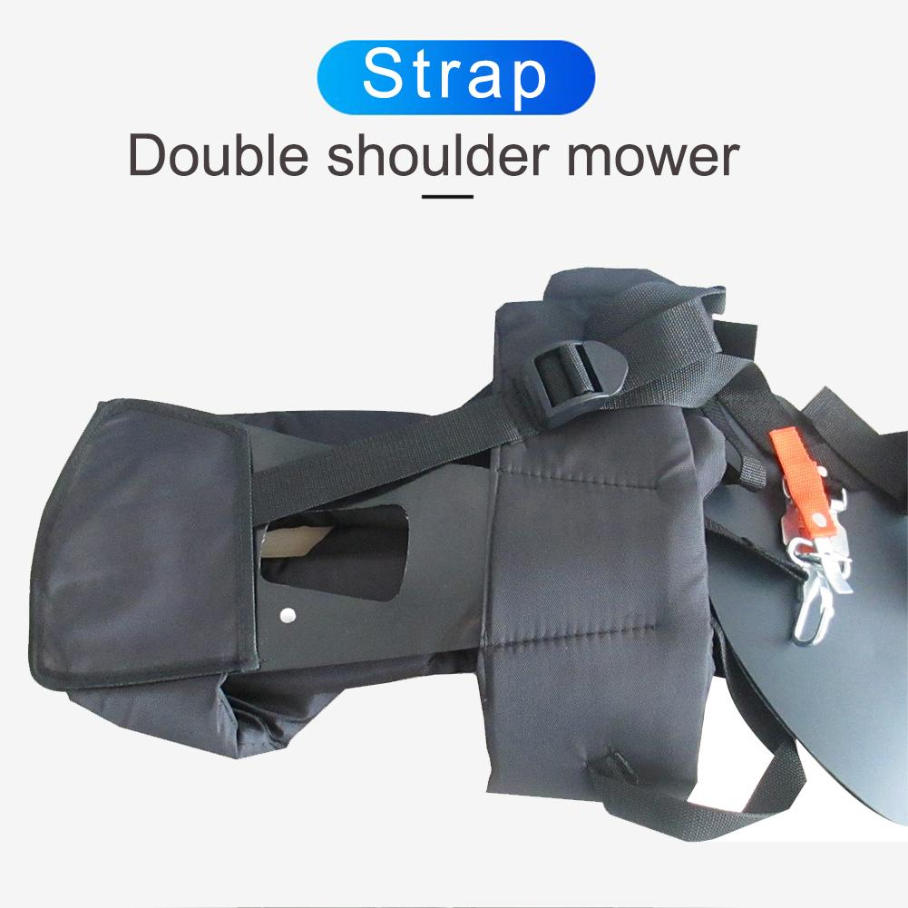 Tools : Nylon Mower Shoulder Strap M Type Wide Adjustable Shoulder Strap Garden trimmers brush saws Cutter electric Tools Accessories