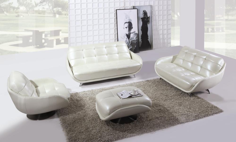 Besplatna dostava Luksuzni biserni sjajni kauč od prirodne kože - Namještaj - Foto 5