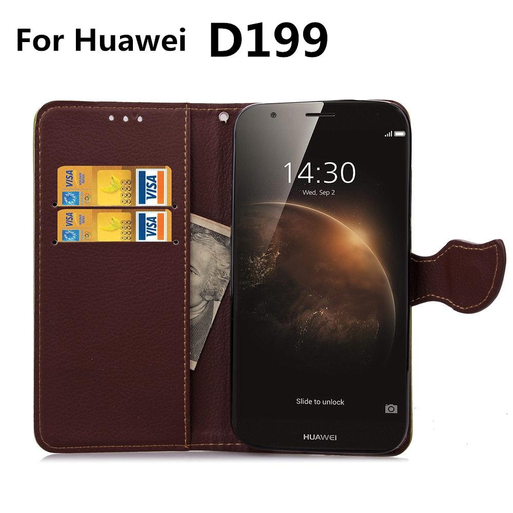 96aa53b179 D199 para Huawei 199 Caso Maimang 4 Folha Fecho Flip Casos de couro Suporte  Função Slot Para Cartão Carteira Capa preta Huawei199 Maimang4