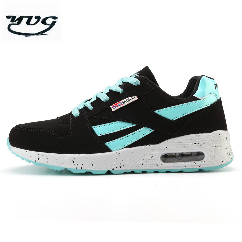 YUG Light Running shoes women sneakers Air cushion  Female Outdoor Athletic air Canvas walking sport tennis Trainers shoes 90