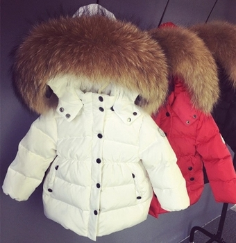 Baby clothes under ultra light baby girl duck down jacket down over 90% of hot winter keep warm coat with cap kids clothes