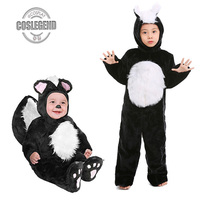 Baby and Child Black and White Mouse Cosplay Costume Boys or Girls Wild Animal Halloween Christmass Party Costume