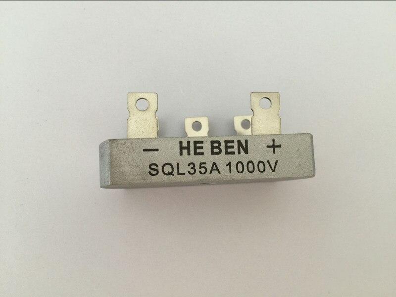 ღ Ƹ̵̡Ӝ̵̨̄Ʒ ღ10 unids SQL35A trifásico puente rectificador ...