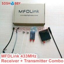 MyFlyDream MFDLink RLink 433 MHz 16CH 50 KM Fernbedienung Extended Range Long Range UHF RX Empfänger & TX Sender Set
