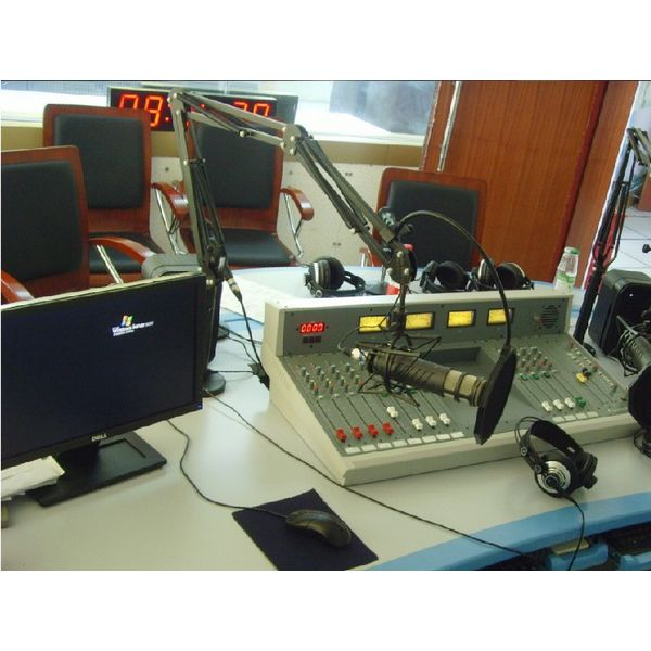 Analog Radio Broadcast Live Studio System Equipments Complete Set