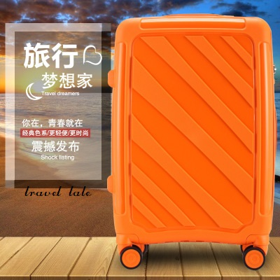 Travel tale 20/24 super light PP Grind arenaceous fashion Rolling Luggage Spinner brand Travel Suitcase