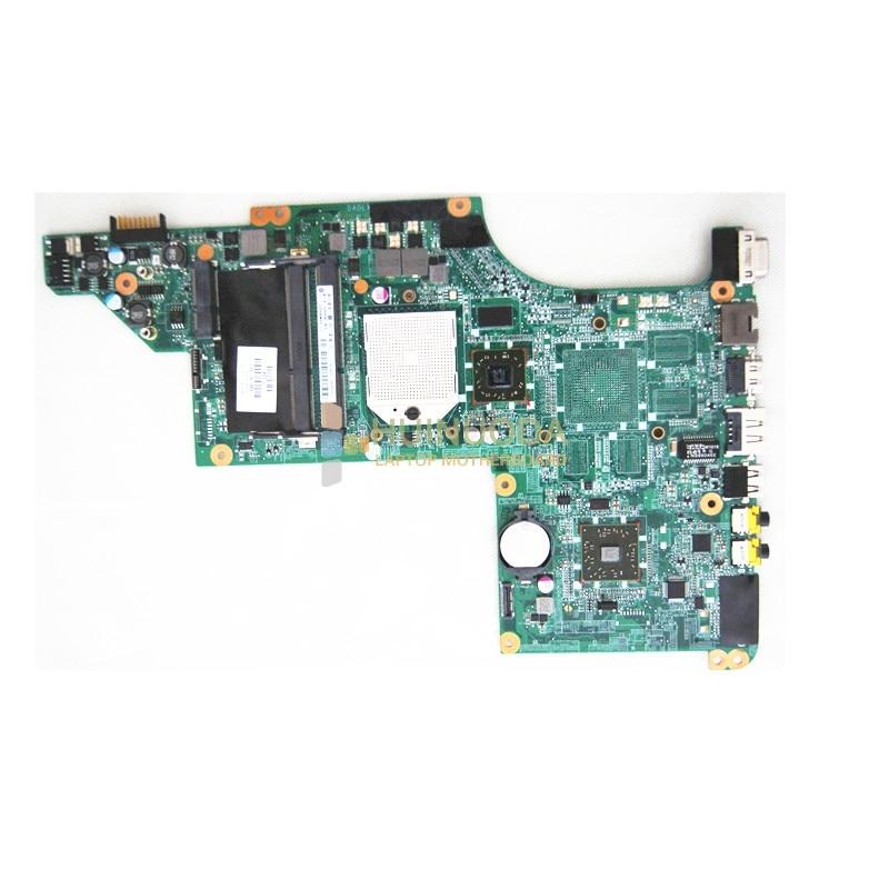 NOKOTION 595135-001 Laptop motherboard for HP Pavilion dv6 DV6-3000 DV6-3020US Mainboard HD4200 Series DDR3 s1 Free CPU 440778 001 417036 001 48 4f501 051 for hp pavilion dv2000 laptop motherboard 945gm without overheat mainboard