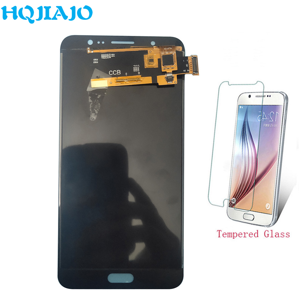 Test <font><b>LCD</b></font> Screen Für Samsung J710 Einstellen <font><b>LCD</b></font> Display Touchscreen Digitizer Für Samsung Galaxy J7 2016 <font><b>J710F</b></font> J710M J710H montage image
