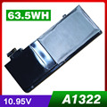 "63.5Wh Laptop Battery For APPLE MacBook Pro 13"" MC700 MC374 MB990 Replace A1322 A1278"