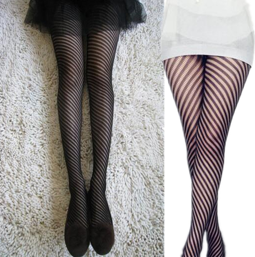 2018 Women Lady Sexy Thin Thread Stockings Lingerie Elastic Transparent Black Tights Thigh Pantyhose