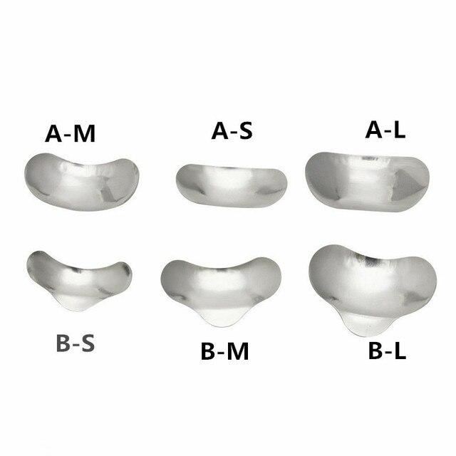 100 Pcs/Set Dental Sectional Contoured Matrices Matrix Ring Delta Wedges Filling W