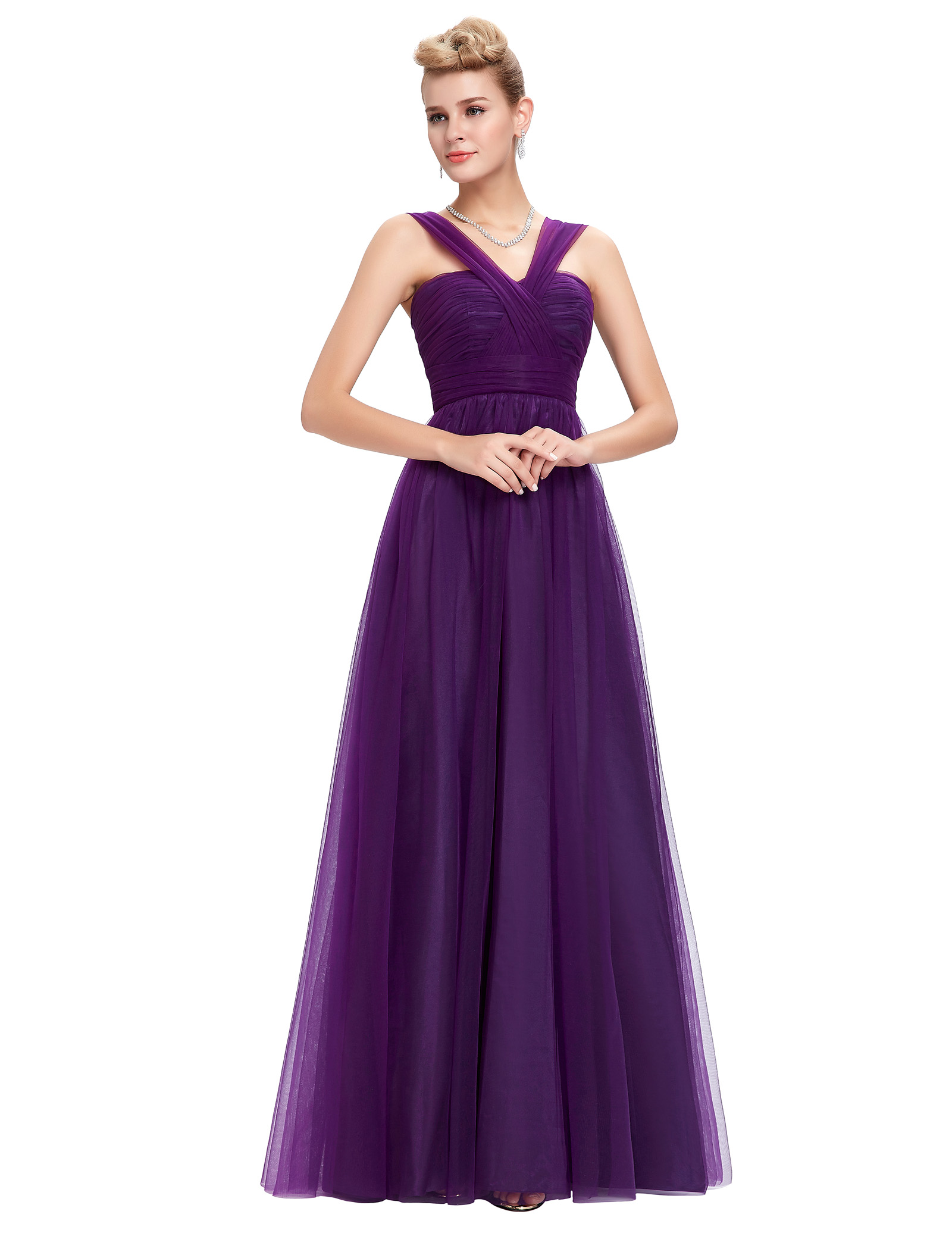 Violet Evening Dresses 94