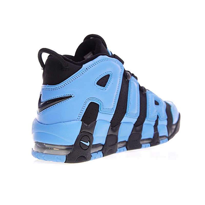 e374e3b9a0 ... Nike Air More Uptempo Men Running Shoes, Pippen Big Air Obsidian Blue  Color Sports Shoes ...