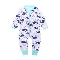 Tulum Sonbahar Yenidoğan Kış Tulum Sevimli Toddler Bebek Kız Erkek Jumpers Tulum Playsuit Kıyafetler Giysileri Bebek Kış Giysileri