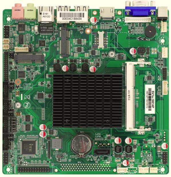 MINI-ITX carte mère, Bay Trail-D J1900, GLAN, 4 * RS232, 6 x USB2.0, VGA, HDMI, industriel embarqué cou conseil
