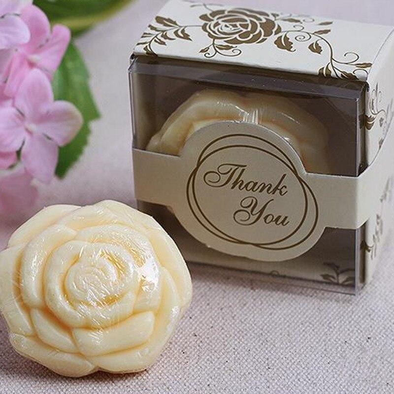 Rose Soap Gift Box Wedding Favor Advertising Gift Handmake Soap
