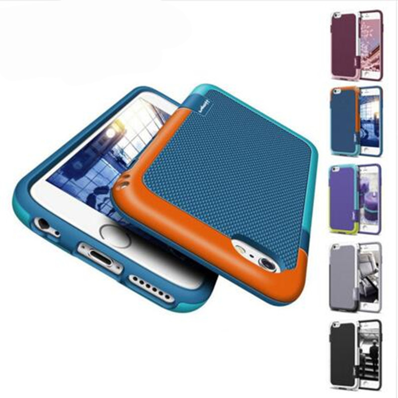 Funda de goma antideslizante para PC de absorción de choque para iphone 11 PRO XS Max XR 6 8 7 Plus Cobertura completa 360 Fundas para iphone X Funda