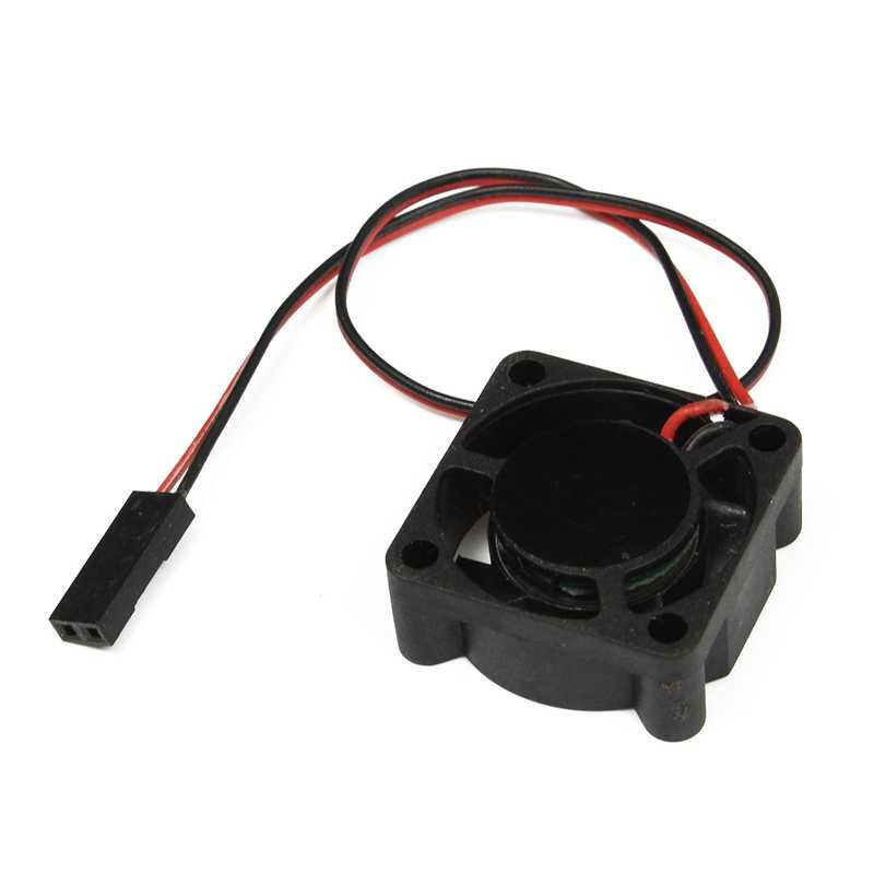 Hobbywing 5 V-7 V 150A DC ventilador de refrigeración para el modelo de RC Motor ESC 25mm 30mm 40mm de transferencia de energía