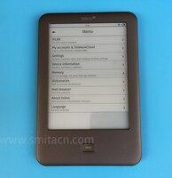 4 GB Luz Brilho Tolino eBook WiFi Leitor de e-book e tinta-6 polegada Tela de Toque 1024x758 frente luz com protetor de Tela
