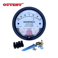 0 30PA Digital Analog Manometer gas industry high pressure meter differential manometer table with high precision and quality