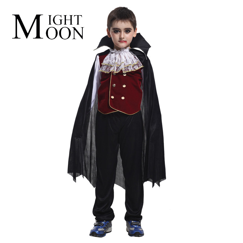 MOONIGHT Devil Cosplay Set Children Costume Kids Halloween Costume for Boy