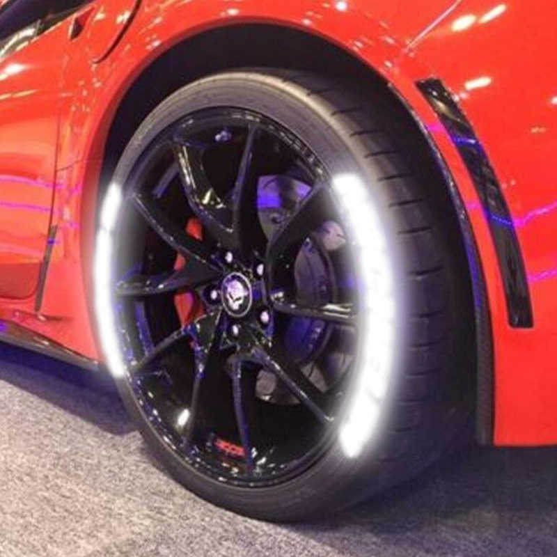 3D Tire Rim Letter Car Tire Wheel Sticker Universal Wheel Letter Decor Decal