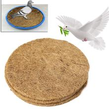 Диаметр 22 см принадлежности для голубей чаша коврик с искусственной травой осушение птичьи яйца гнездо Матрас протектор гнездо Аксессуары