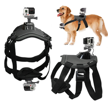 Action Camera GoPro Accessories Dog Fetch Harness Chest Strap Shoulder Belt Mount For Go Pro Hero 4 3 2 SJ4000 WIFI Cameras
