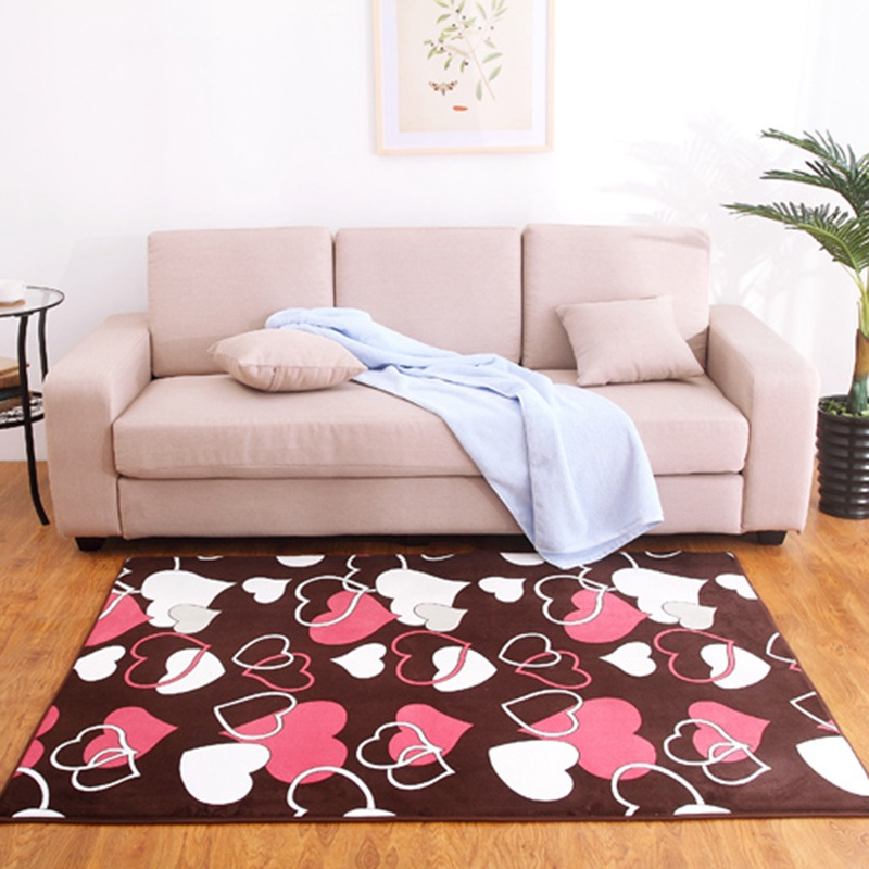 High Quality Shaggy Soft Carpet Area Rugs Slip Resistant Floor Carpets For Living Room Bedroom Home