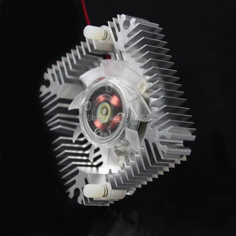 1PCS Aluminum PC GPU VGA Video Card Heatsink Cooler Cooling Fan Hole to Hole 55mm cpu cooling conductonaut 1g second liquid metal grease gpu coling reduce the temperature by 20 degrees centigrade