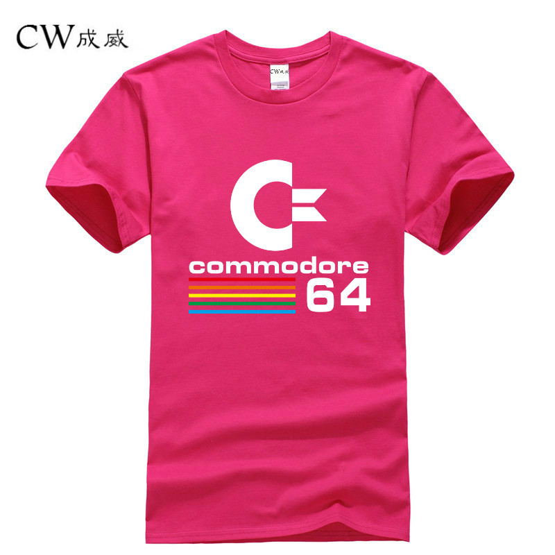 2018 Summer Commodore 64   T     Shirts   C64 SID Amiga Retro 8-bit Ultra Cool Design Vinyl   T  -  shirt   Mens Clothing With Short Sleeve