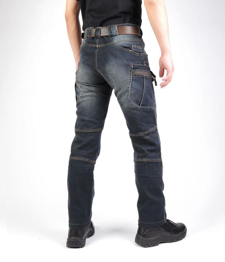 c7d11eb2ef7ce Delik Metrosexual Düz Tahrip Kot Marka Ince Rahat Yırtık Kot Homme Retro erkek  denim pantolon Yüksek