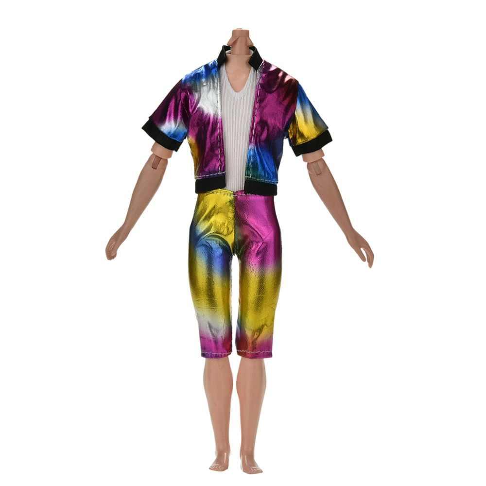 Модный костюм «Принц Кен Кукла»: куртка + штаны, классный наряд для мальчика, кукла Кен, лучший подарок на день рождения для детей