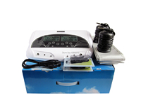 Dual detox foot bath ionic Reflexology Foot Detox Machine ion electric foot care tool detox machine Tub Ion Cleanser
