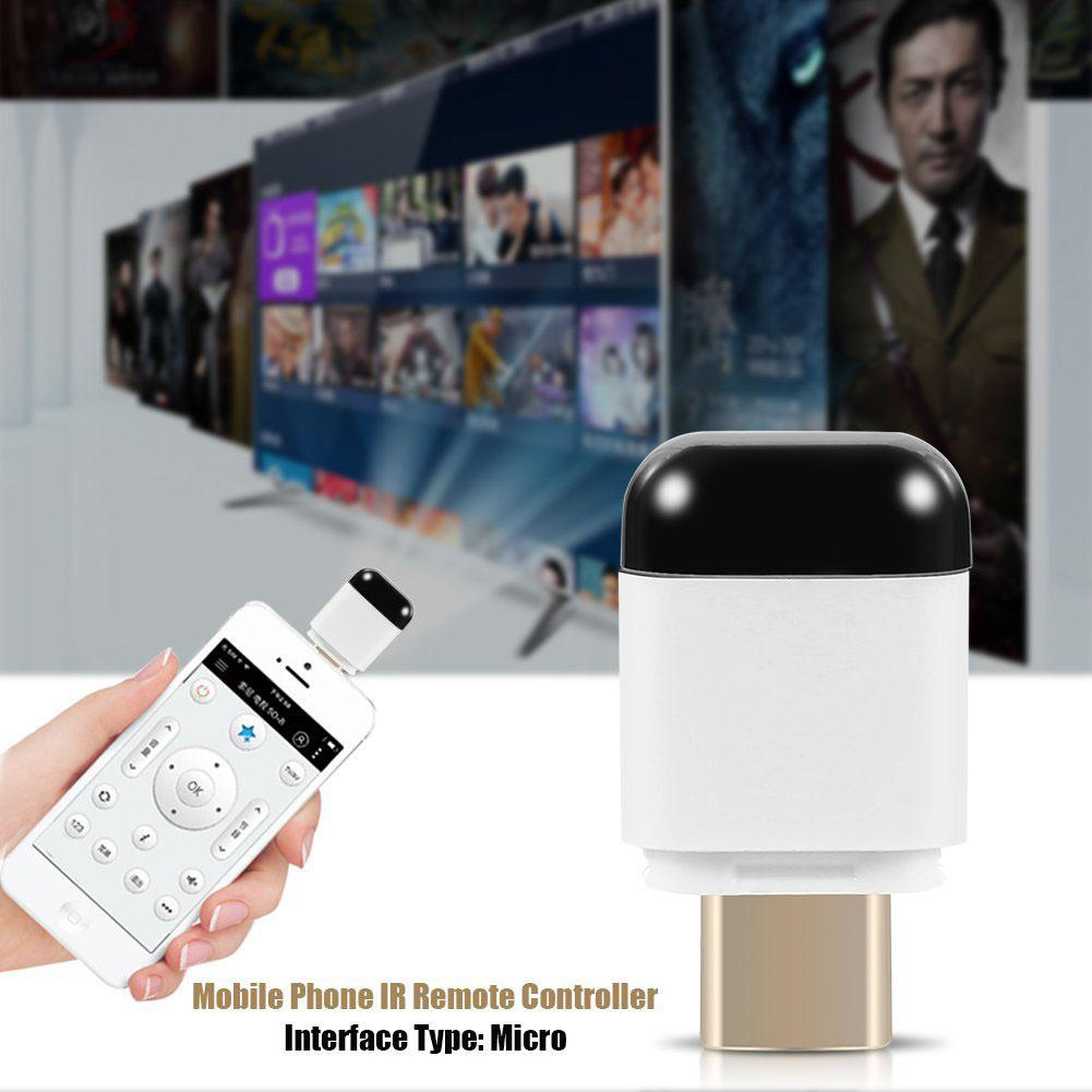 Universal USB C Interface Mobile Phone IR Remote Controller For Android Air Conditioner TV Wireless Infrared Smart App Control image