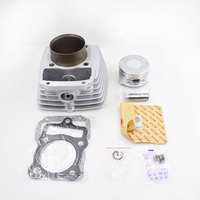 Motorcycle Cylinder Piston Ring Gasket Kit 63.5mm Bore 197cm3 For Zongshen Lifan CG200 CG 200 Air cooled 163FML Engine Parts