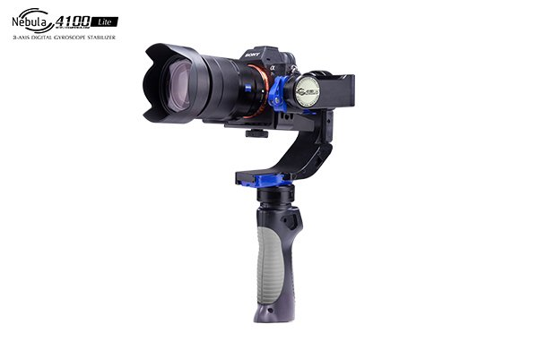 Nebula 4100 Lite 3-Axle Handheld Brushless Gimbal Stabilizer Infrared Function with Extra Battery For Cameras F20171 арктика 4100 3