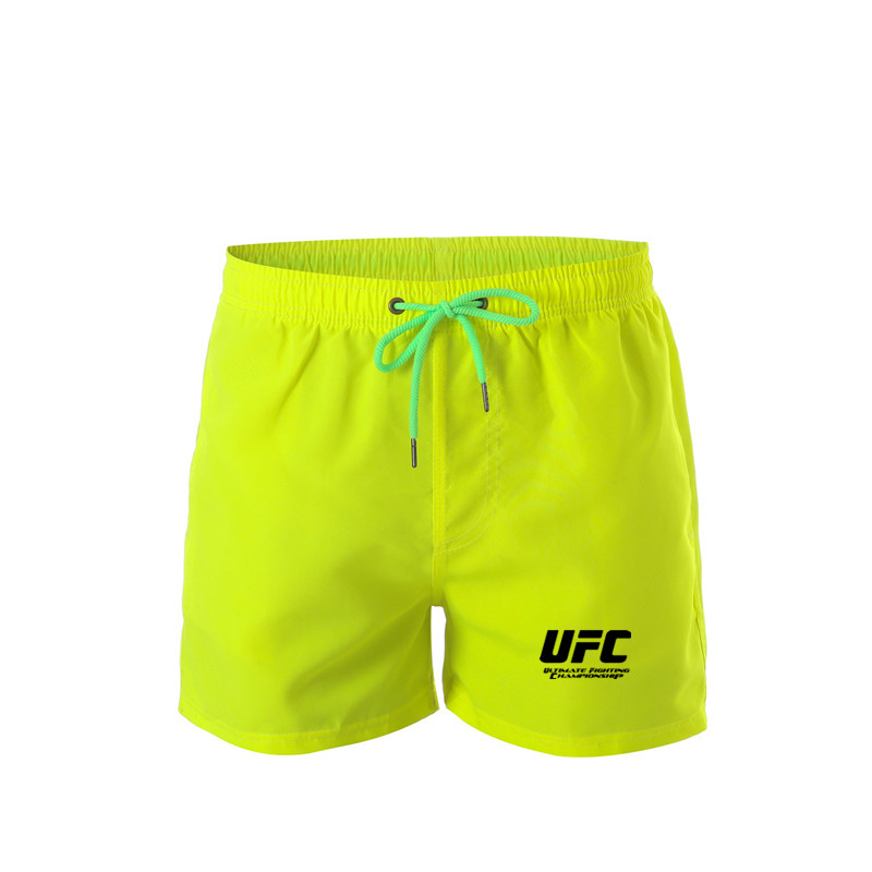UFC Men Shorts Summer New Men's Sportswear Casual Boardshorts Man fashion Pocket Breathable Mens Short Trousers M-3XXL
