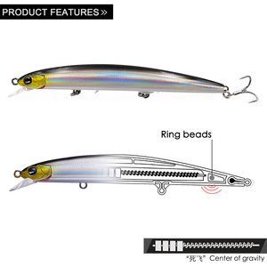 EWE New Floating Lures 115mm/13g Minnow Artificial Baits Jerkbait Wobbler Lures Fishing For Fish Pike Trout Sea Bass Fishing