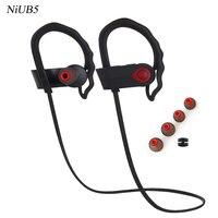 NiUB5 U9 Sweatproof Wireless Bluetooth Earphone In Ear Sport Stereo Headset Handfree With Microphone For Phone