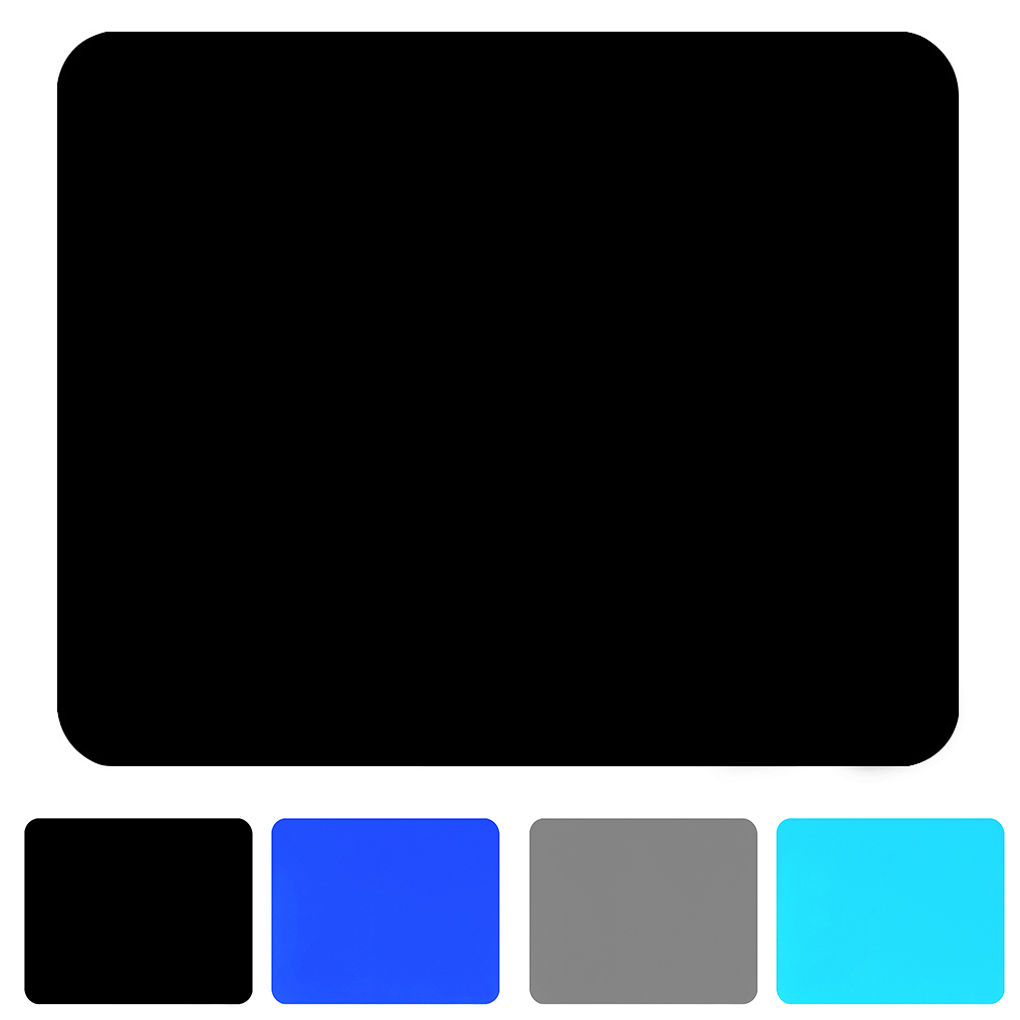 Solid Color Ultra Thin Student Fabric Gaming Mouse Pad Colorful Mat Tasteless Non Slip Gift