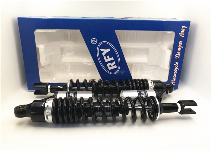 High Quality 390mm 415mm 420mm Motorcycle shock absorber nitrogen air suction 8mm spring for ATV honda