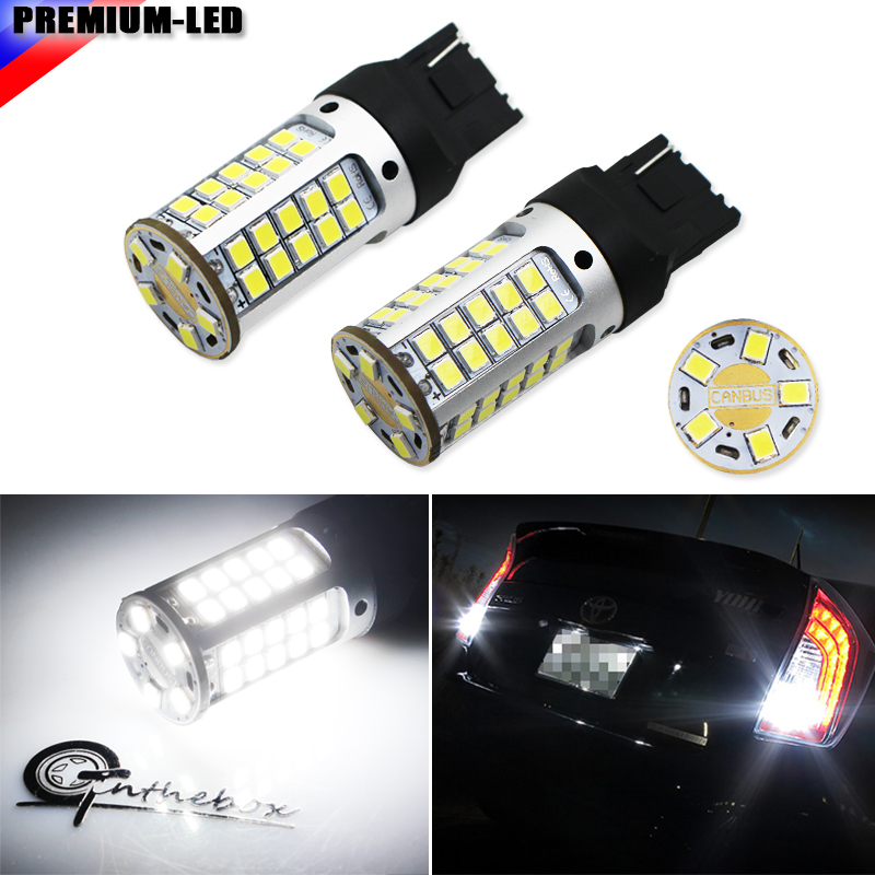 2pcs Canbus Error Free 21W 55-SMD-3030 7440 7444 T20 W21W LED Replacement Bulbs For Euro Car Backup Reverse Lights,Car led britax roemer летний чехол для кресла britax roemer kidfix ii xp sict розовый