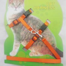 Cat Collars & Leads Cat dog harness pet leash adjustable harness belt for pet