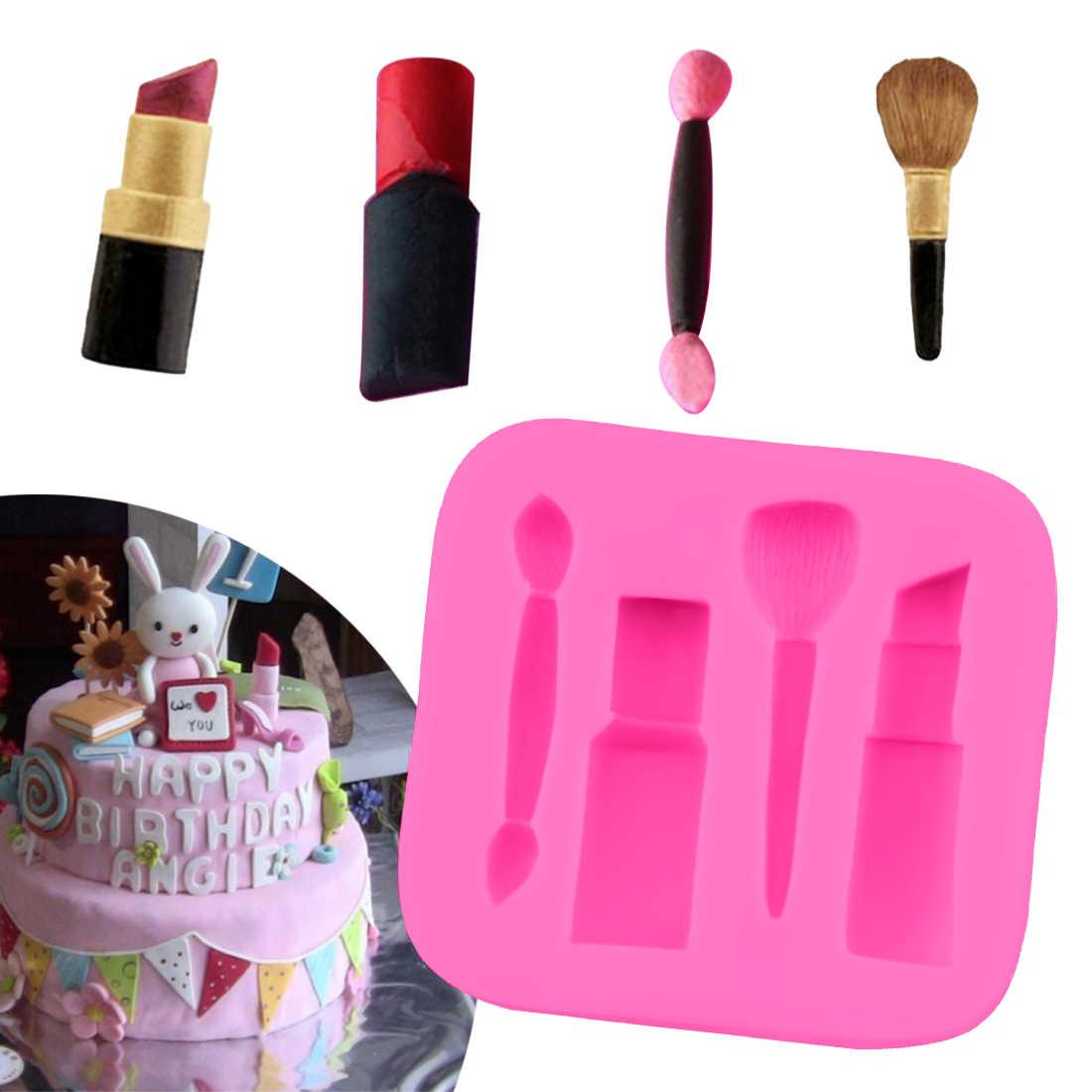 Pleasing Cake Decorating Tools 1Pc Makeup Tools Lipstick Nail Polish Funny Birthday Cards Online Inifodamsfinfo