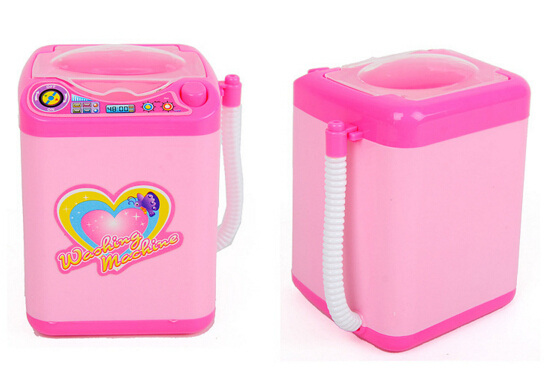 Educational Toy Mini Electric Washing Machine Children Pretend & Play Baby Kids Home Appliances Toy 1