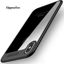 hot deal buy phone case for iphone x 8 7 6 6s oppselve ultra thin slim pc & tpu cover for iphone 8 7 6 6s plus coque capinhas for iphone x 8