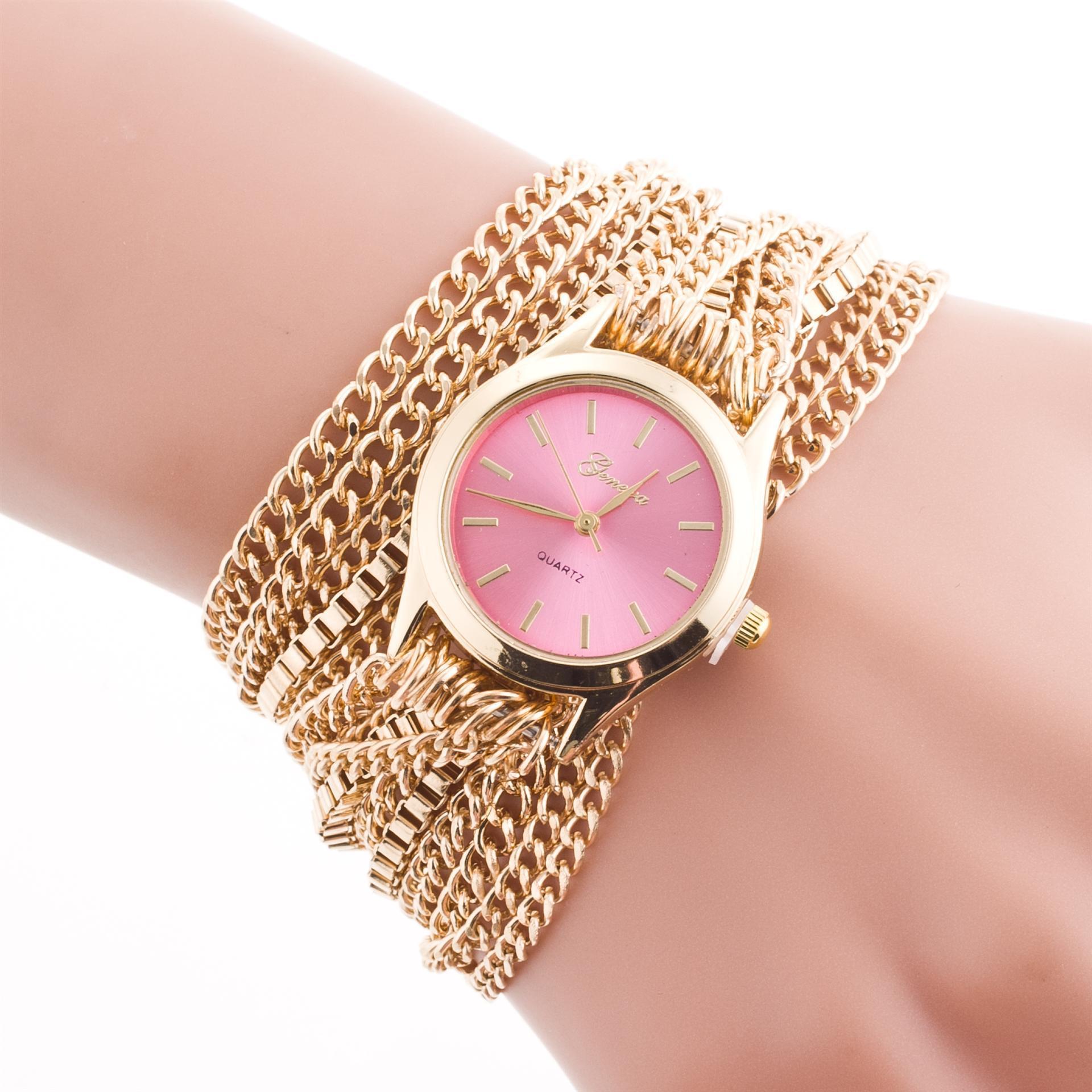 Часы наручные браслет цепочка