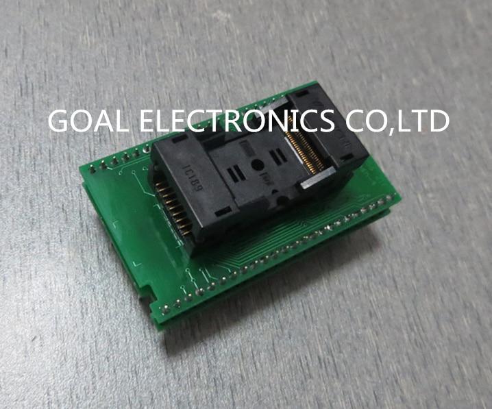 DIL48/TSOP56 ZIF FLASH-4 burning test socket adapter conversion