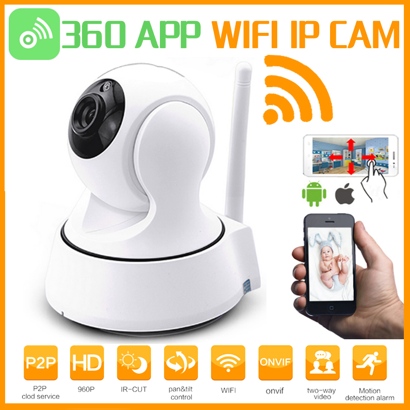 360App Home Security IP Camera Wi-Fi Wireless Mini Network security Surveillance 720P 960P Night Vision CCTV P2P Baby Monitor